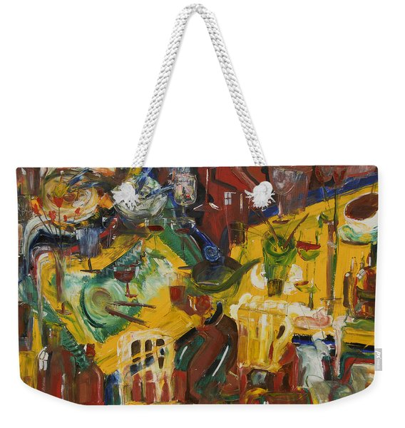 With Coffee To Follow Weekender Tote Bag