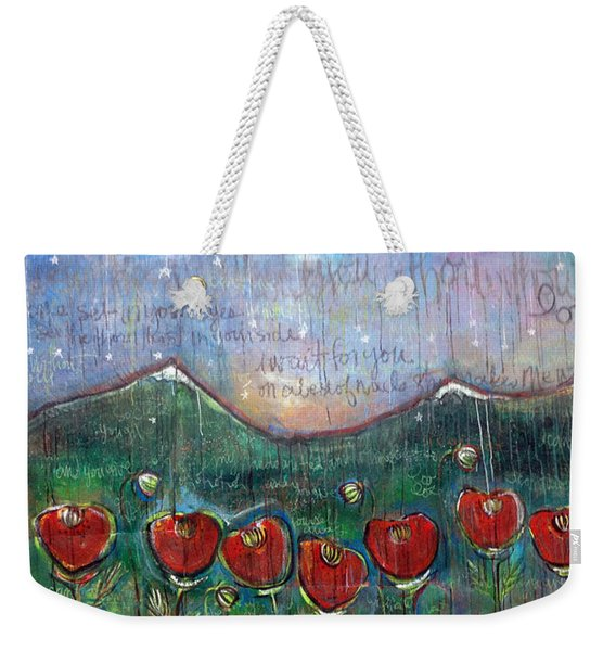 With Or Without You Weekender Tote Bag