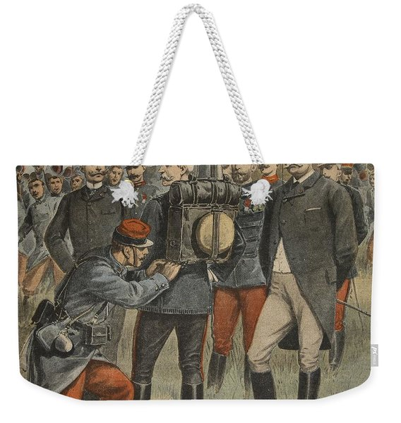 With The Army Manoeuvres The Duke Weekender Tote Bag