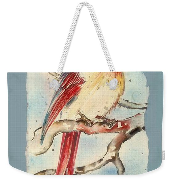 With Touches Of Red  Weekender Tote Bag