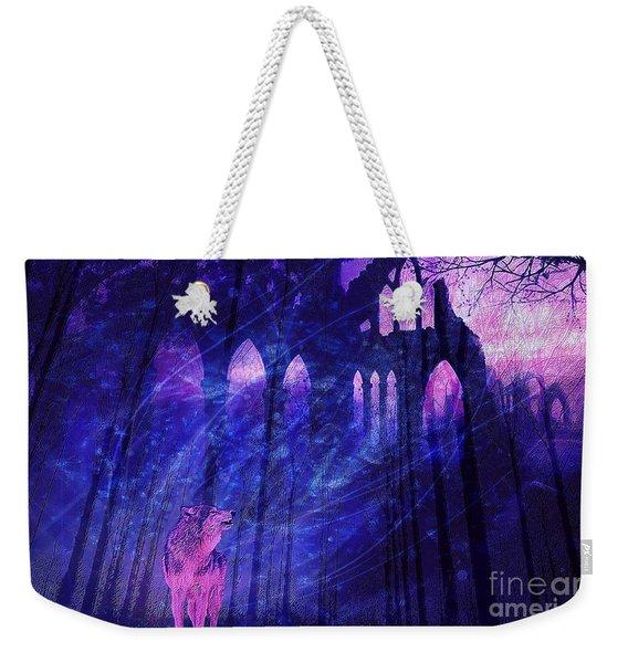 Wolf And Magic Weekender Tote Bag