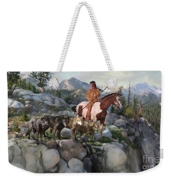 Wolf Maiden Weekender Tote Bag