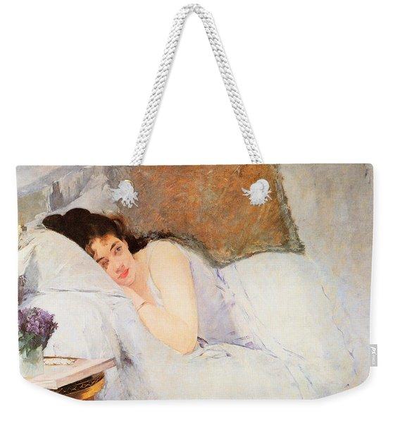 Woman Awakening Weekender Tote Bag