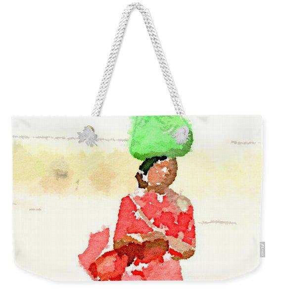 Woman Bag Weekender Tote Bag