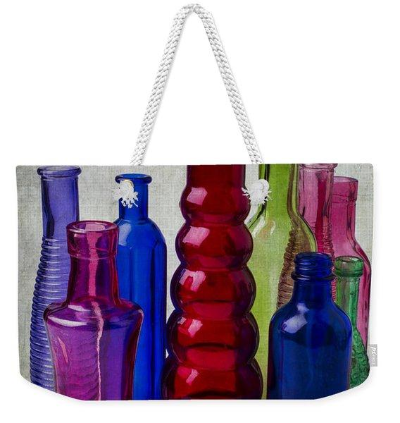 Wonderful Glass Bottles Weekender Tote Bag