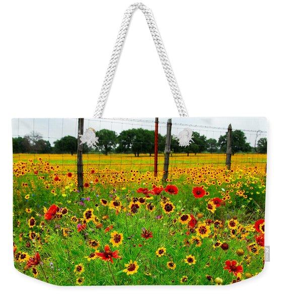 Wonderful Wildflowers Weekender Tote Bag