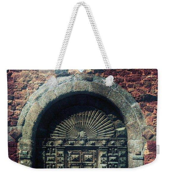 Wooden Gate Weekender Tote Bag