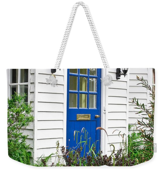Wooden House Weekender Tote Bag