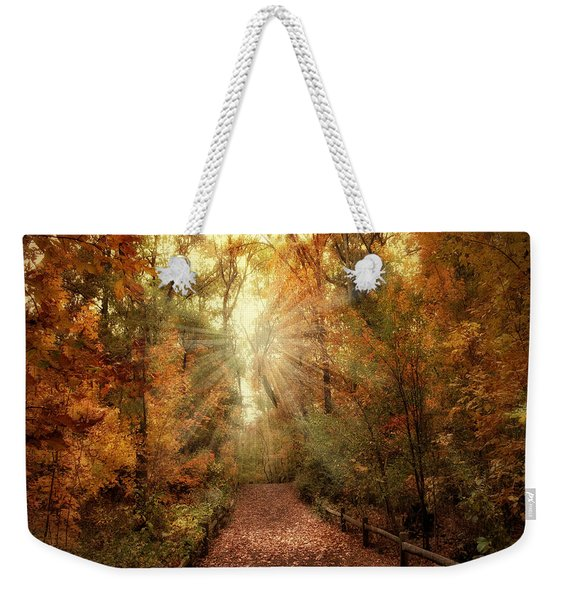 Woodland Light Weekender Tote Bag