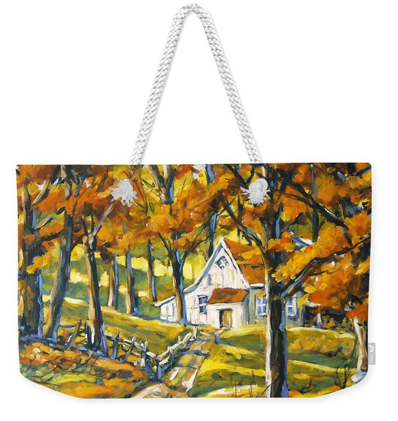 Woodland Sugar Shack By Prankearts Weekender Tote Bag