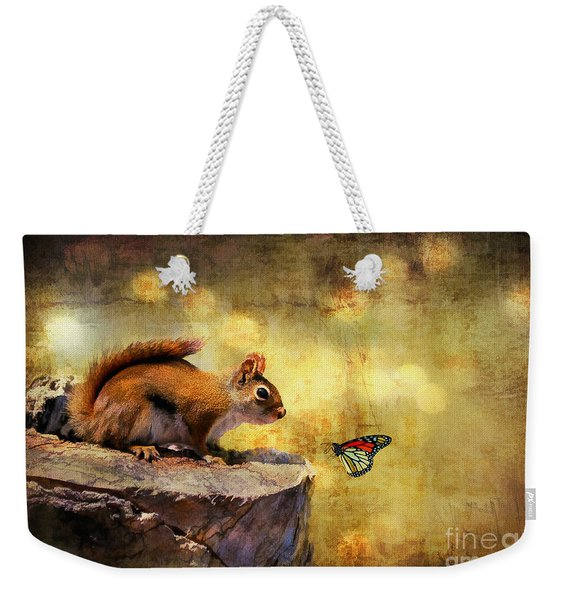 Woodland Wonder Weekender Tote Bag