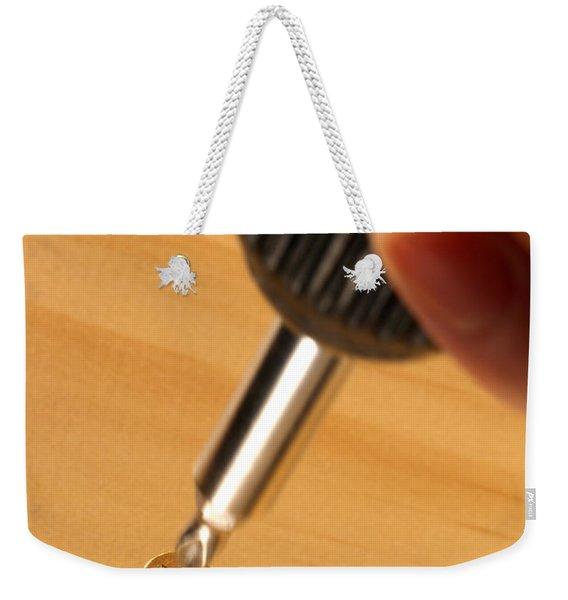 Woodworking  Weekender Tote Bag