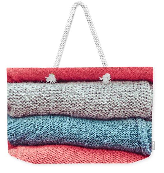 Wool Jumpers Weekender Tote Bag