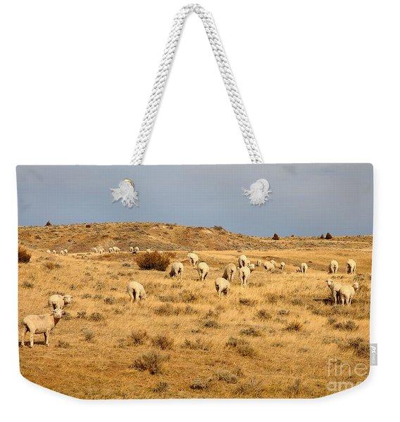 Wool You Sheep With Me Weekender Tote Bag