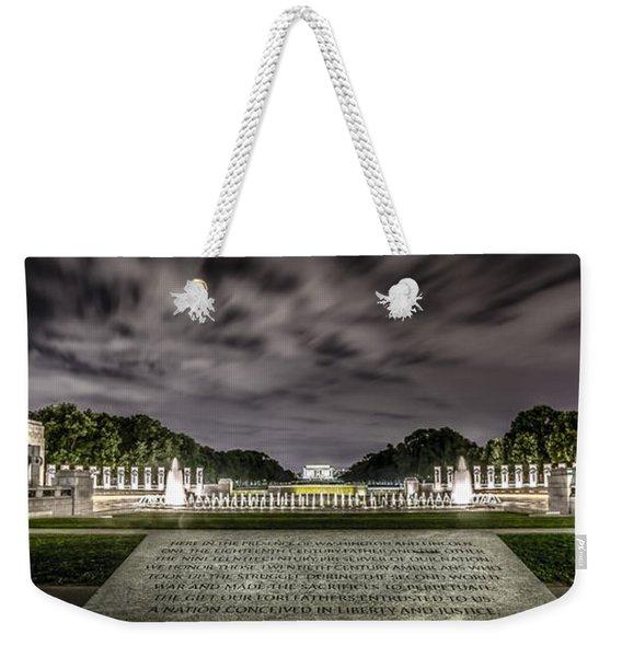 World War II Memorial Weekender Tote Bag