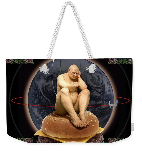 World Wide Weekender Tote Bag