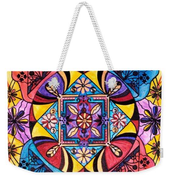 Worldly Abundance Weekender Tote Bag