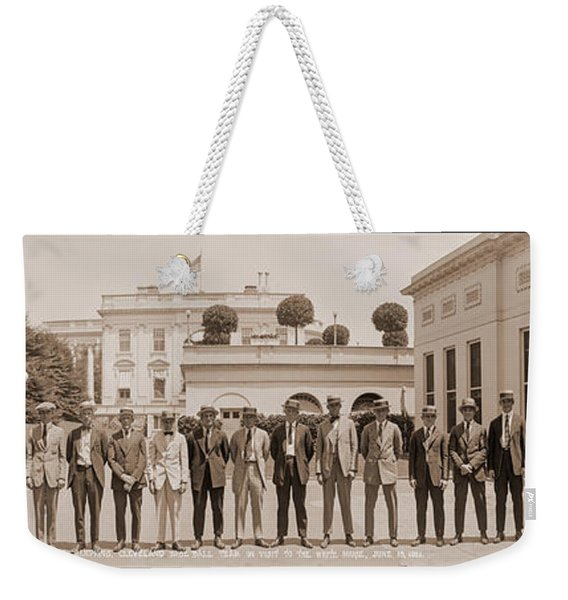 Worlds Champions, Cleveland Base Ball Weekender Tote Bag