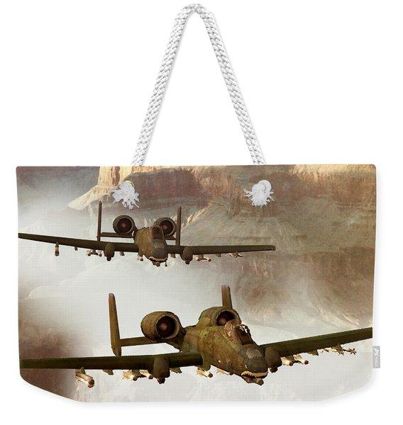 Wrath Of The Warthog Weekender Tote Bag