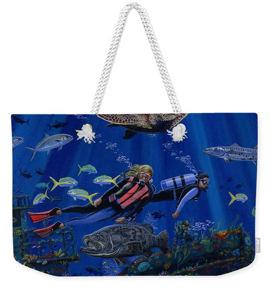 Wreck Divers Re0014 Weekender Tote Bag