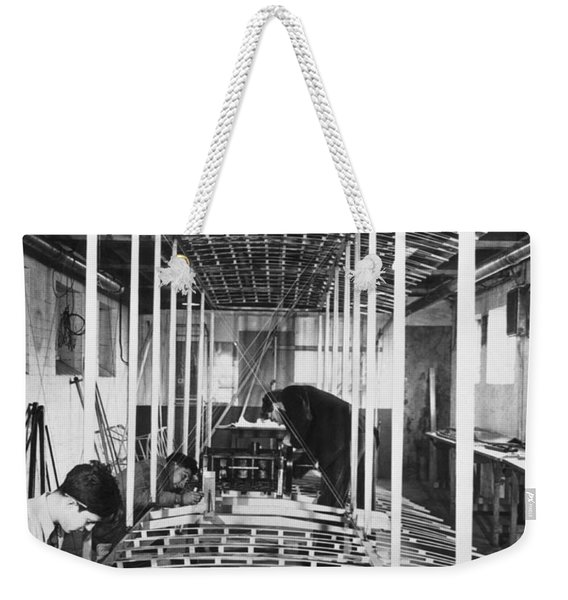Wright Plane Replica Weekender Tote Bag