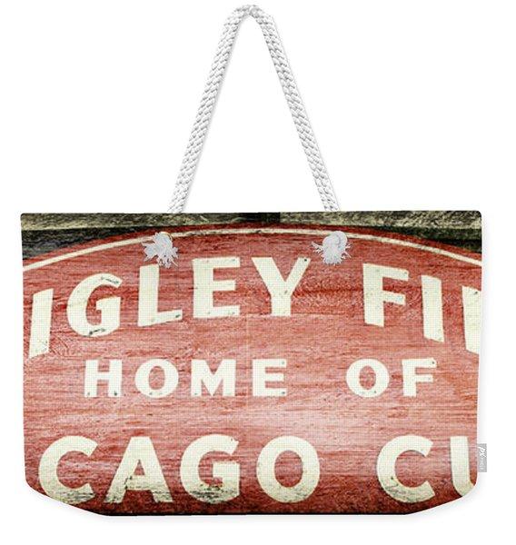 Wrigley Field Sign - No.2 Weekender Tote Bag