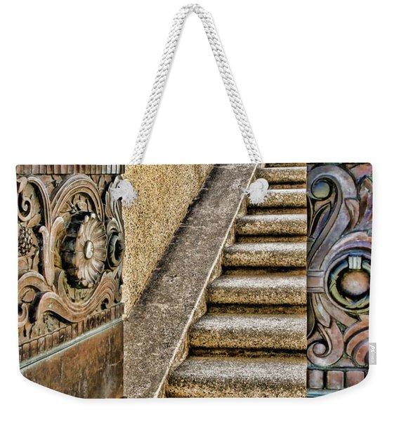 Wrigley's Bronze Doors By Diana Sainz Weekender Tote Bag