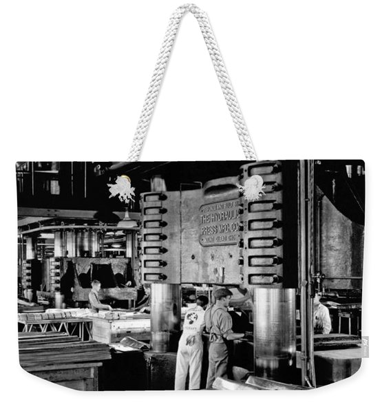 Wwii Aircraft Factory Weekender Tote Bag