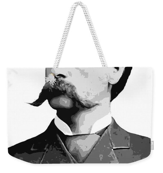 Wyatt Earp Legend Of The Old West Weekender Tote Bag