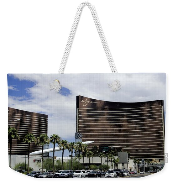 Wynn And Encore Hotels And Casinos - Las Vegas Weekender Tote Bag