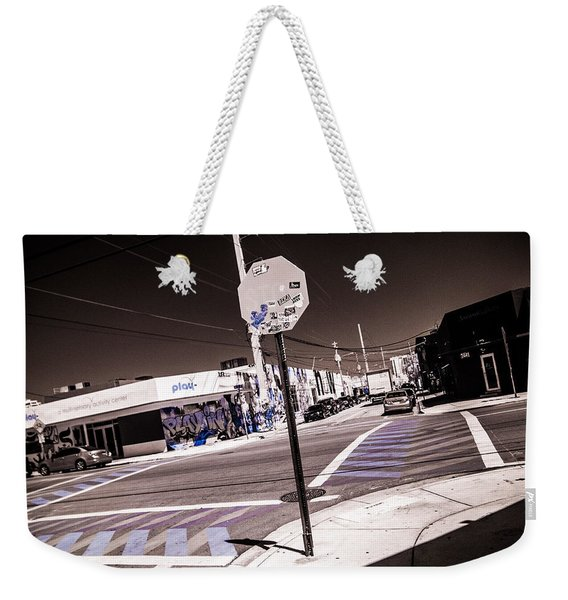 Wynwood Crossing Weekender Tote Bag