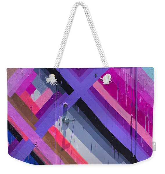 Wynwood Door Series 16 Weekender Tote Bag