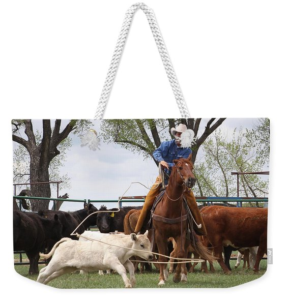 Wyoming Branding Weekender Tote Bag