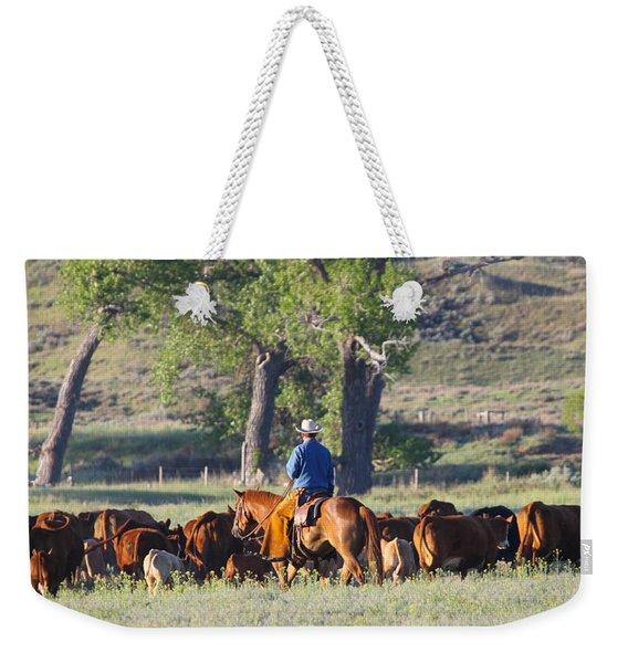 Wyoming Country Weekender Tote Bag