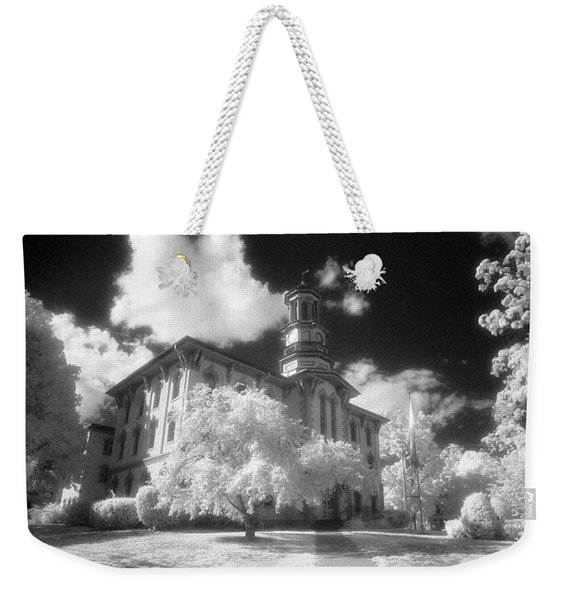 Wyoming County Courthouse Weekender Tote Bag