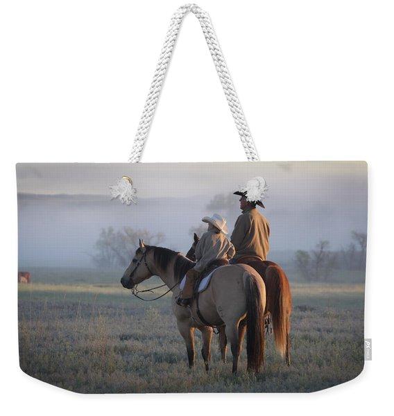 Wyoming Ranch Weekender Tote Bag