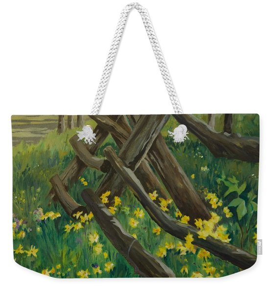 Wyoming Summer Weekender Tote Bag