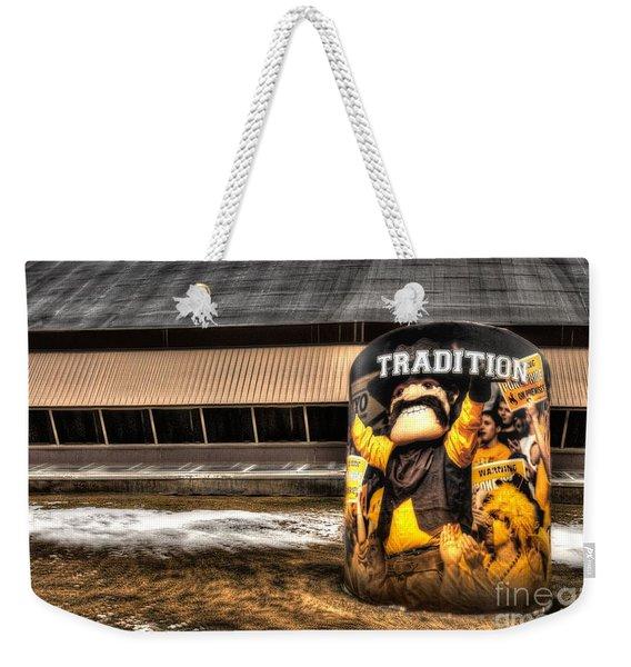Wyoming Tradition Weekender Tote Bag