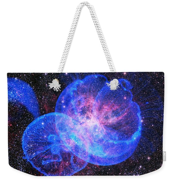 X-factor In Universe. Strangers In The Night Weekender Tote Bag