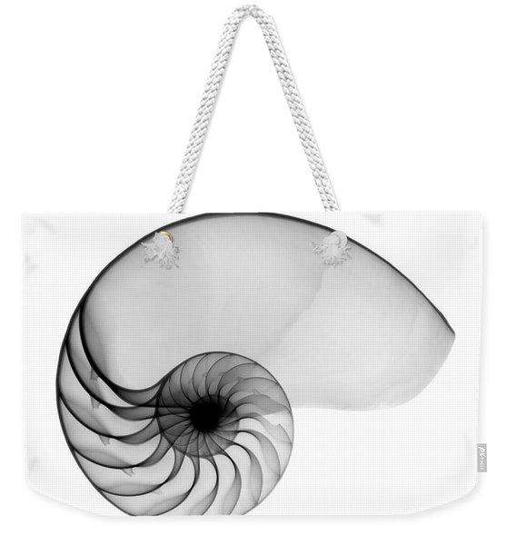 X-ray Of Nautilus Weekender Tote Bag