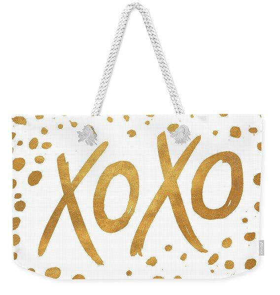 Xoxo Weekender Tote Bag