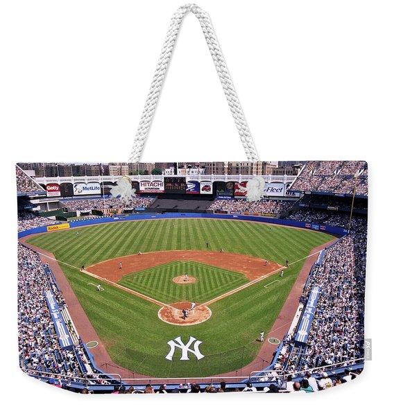 Yankee Stadium Weekender Tote Bag
