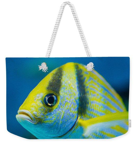 Atlantic Porkfish Weekender Tote Bag