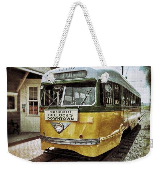 Yellow Car - Los Angeles Weekender Tote Bag