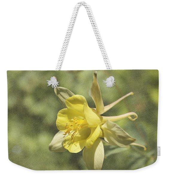 Yellow Columbine Weekender Tote Bag