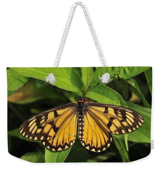 Yellow Coster Butterfly Manas Np India Weekender Tote Bag