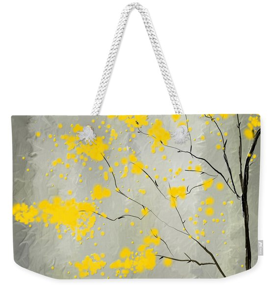 Yellow Foliage Impressionist Weekender Tote Bag