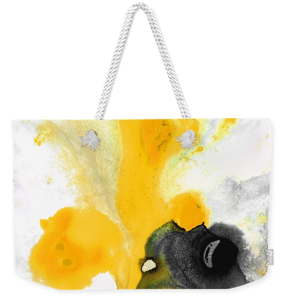Yellow Orange Abstract Art - The Dreamer - By Sharon Cummings Weekender Tote Bag