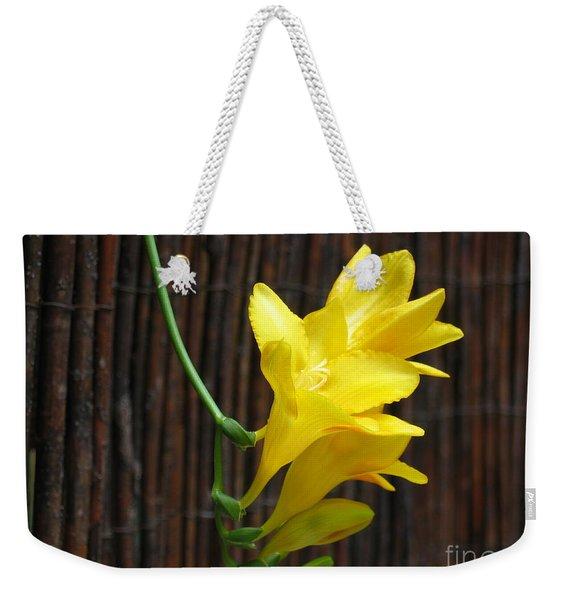 Yellow Petals Weekender Tote Bag