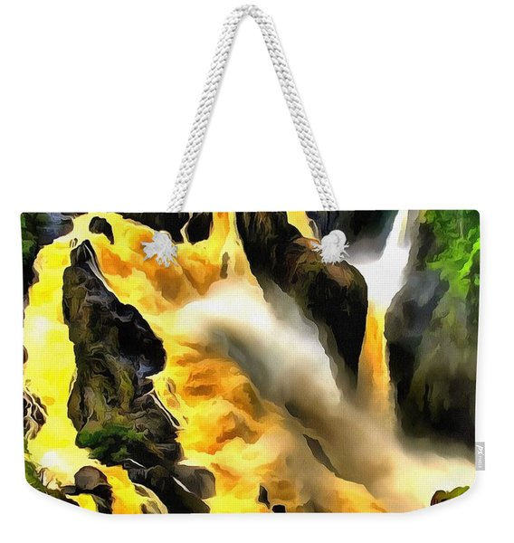 Yellow River Weekender Tote Bag